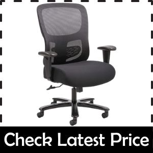 Sadie Big And Tall best Office Computer Chair for buttock pain