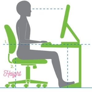 How To Adjust Office Chair Seat Angle with height setting