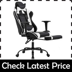 BestOffice Gaming Chair - Best Gaming Chair for Sweat Absorption