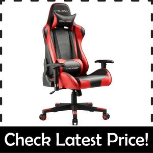 GTRACING Gaming Chair – Most Durable Gaming Chair Rated for 300 lbs