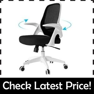 Hbada Office Task Desk Chair – Most Reliable Office Chair to Sit Cross-Legged