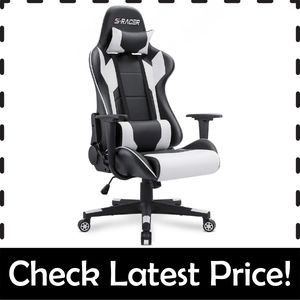 Homall Gaming Chair – Best Gaming Chair to Reduce Back Pain