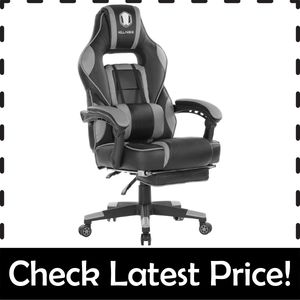 KILLABEE Massage Chair – Best Gaming Chair with Adjustable Lumbar Support